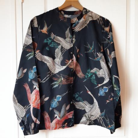 chemise louise oiseaux