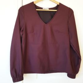 blouse arcadia Prune