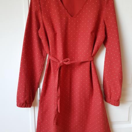 robe Flora Terracotta